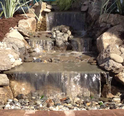 Waterfall Landscaping in New York