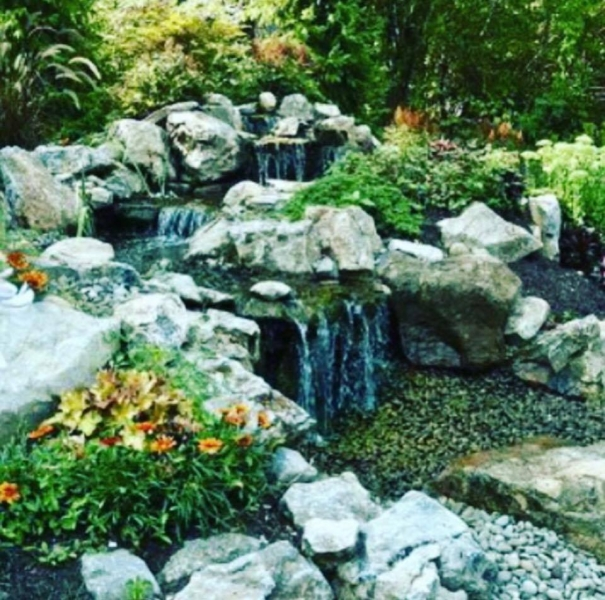 To Add Beautiful Water Features, Waterfalls, And Ponds To Your Landscape  Project Or With Any Landscaping In Queens Call 718 672 7323